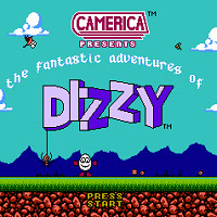 Титульный экран Fantastic Adventures of Dizzy